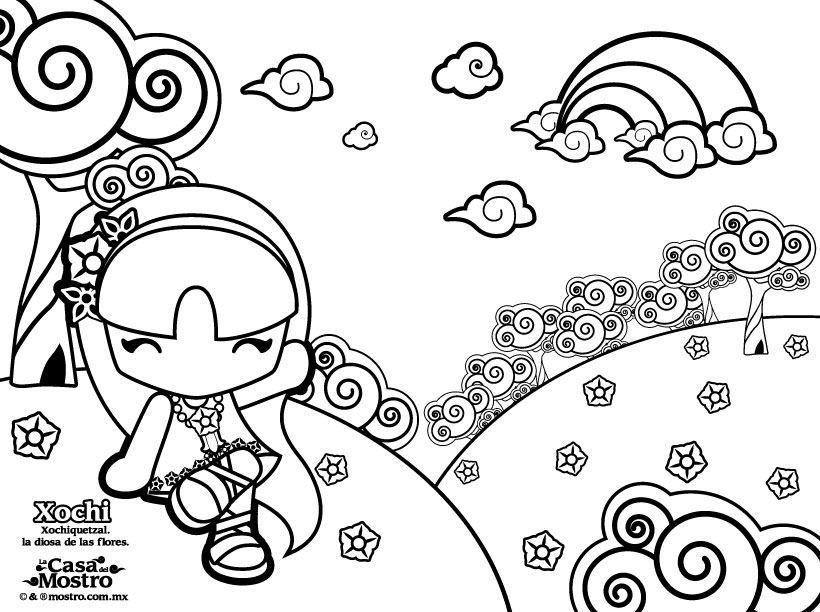 Dibujos Infantiles Para Colorear De Hamsters: Dibujos Para Pintar