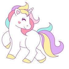 Imagenes De Un Unicornio Facil Imagen Para Colorear