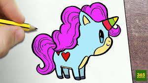 Dibujos de unicornios fáciles y bonitos
