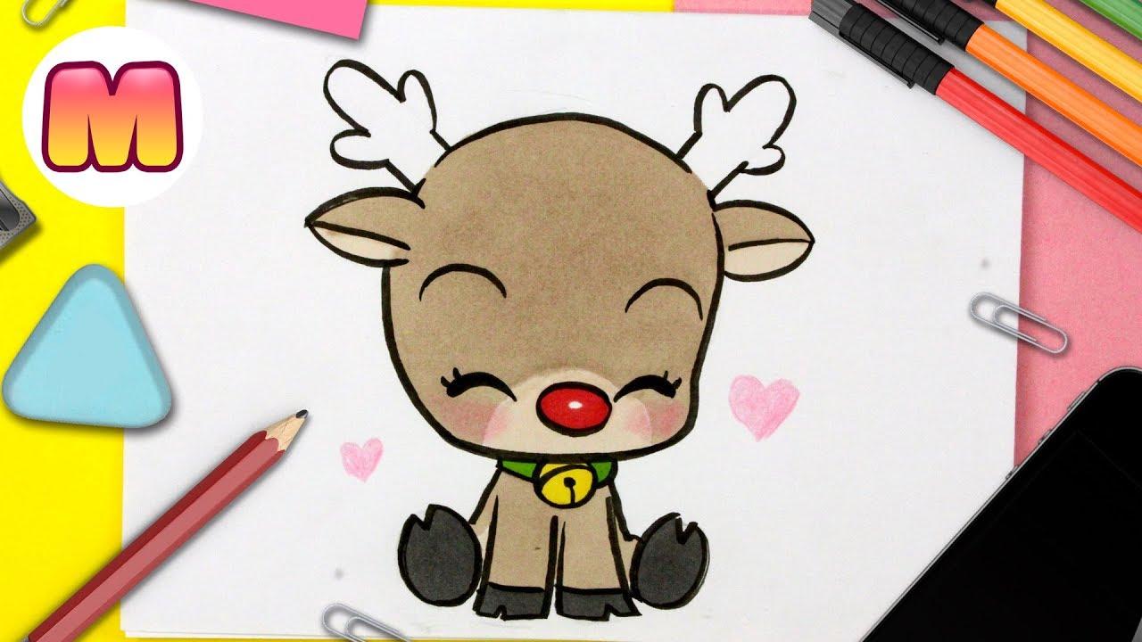 Dibujos kawaii de navidad para colorear - Fotos de amor ...