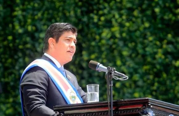Carlos Alvarado hace llamado a la Paz