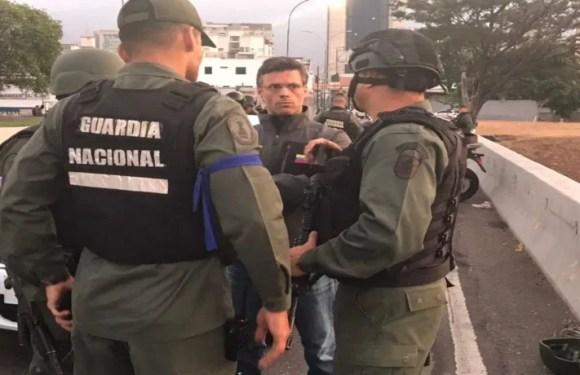«Maduro no cuenta con el respaldo de la FAN», dijo Juan Guaidó