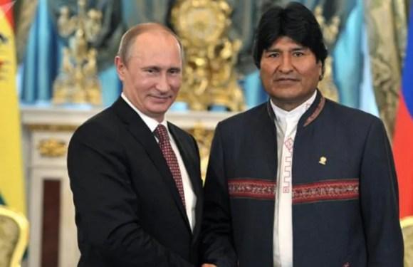 Putin y Morales rechazan injerencia en asuntos de Venezuela