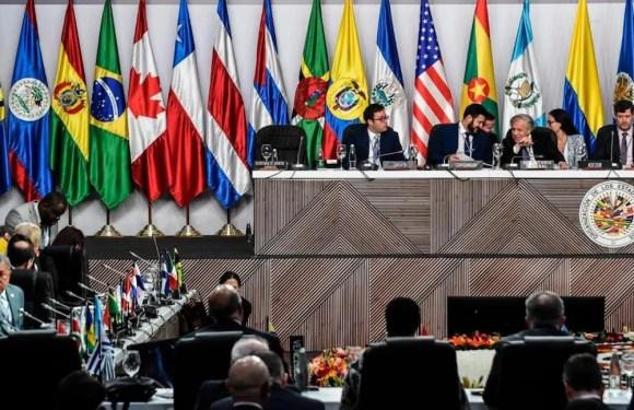 Secretaría General de la OEA pide anulación de la primera vuelta de elecciones en Bolivia