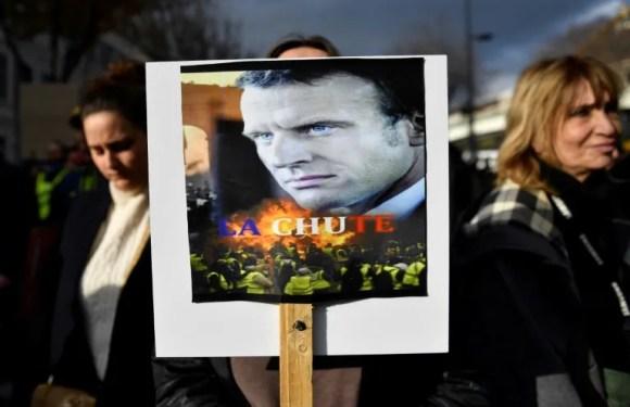 """Cientos de miles en las calles y huelga para decir """"no"""" a reforma de pensiones en Francia"""