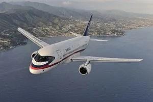La ONU contrata los servicios de los aviones rusos Sukhoi Superjet 100