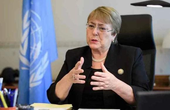 Bachelet teme que medidas de urgencia aumenten represión tras Covid-19