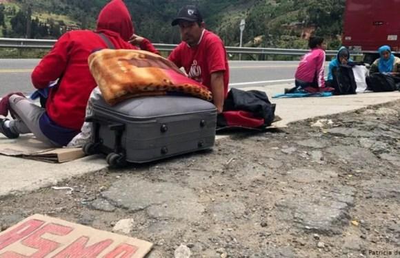Indígenas de Colombia huyen de grupos armados