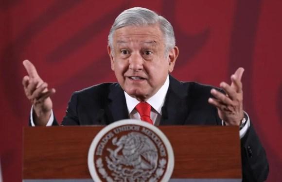 Califica López Obrador de provocación desmanes en Ciudad de México