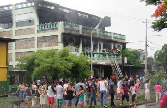2 años de la masacre en el barrio Carlos Marx en Managua, Nicaragua