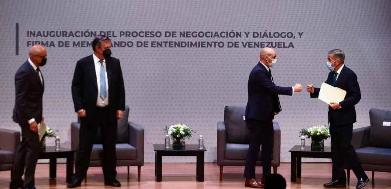 Última Jornada de Diálogo entre el Gobierno y la Oposición de Venezuela.