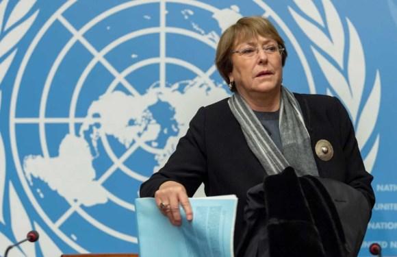 """""""El mayor reto para los derechos humanos son las amenazas ambientales"""" – Michelle Bachelet"""