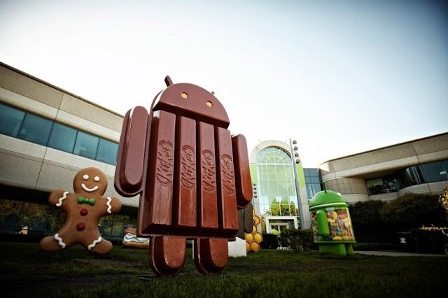 Android 4.4 KitKat Nestlé