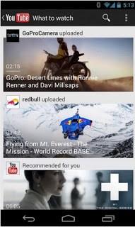 Youtube 5.0 para Android gratis