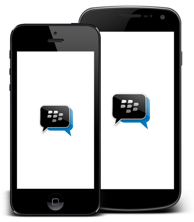 BlackBerry Messenger Android y Iphone