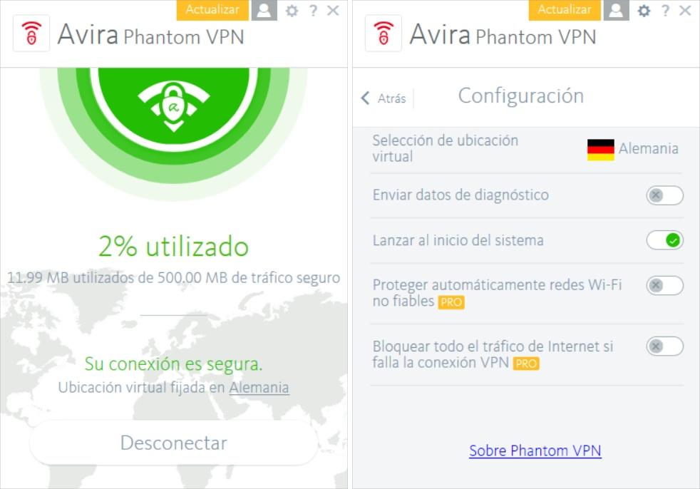 Avira Phanton VPN