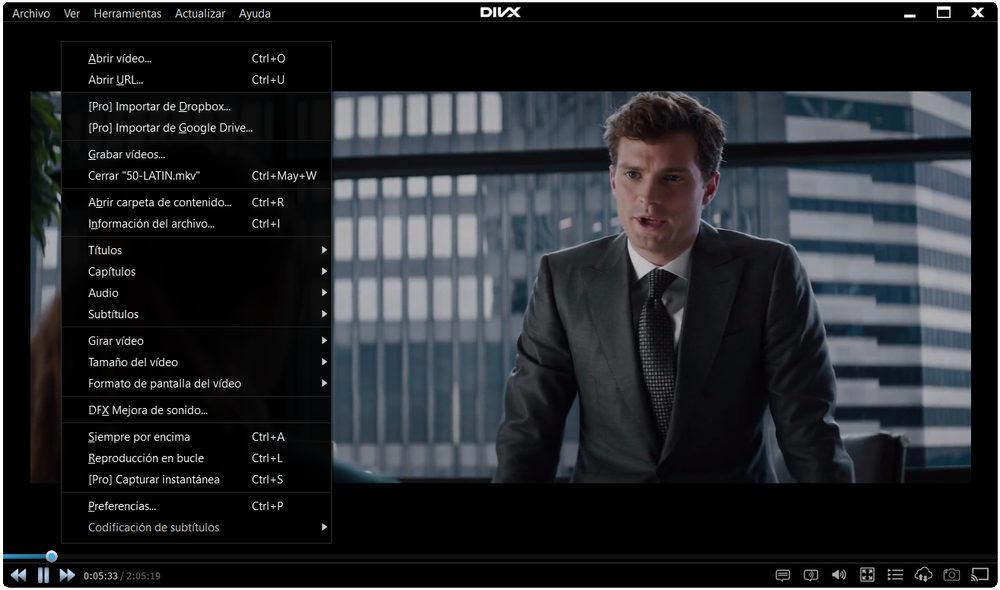 Reproductor 4K DivX Player y Media Server