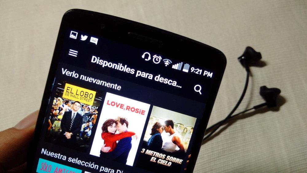 Películas Offline Netflix