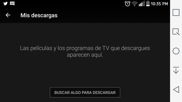 Descargas Netflix