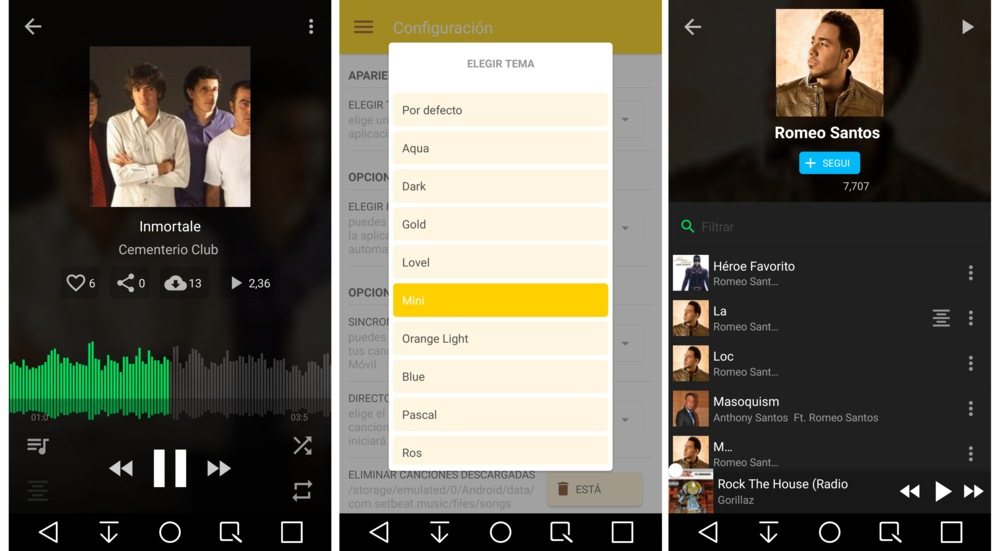 Setbeat app Android