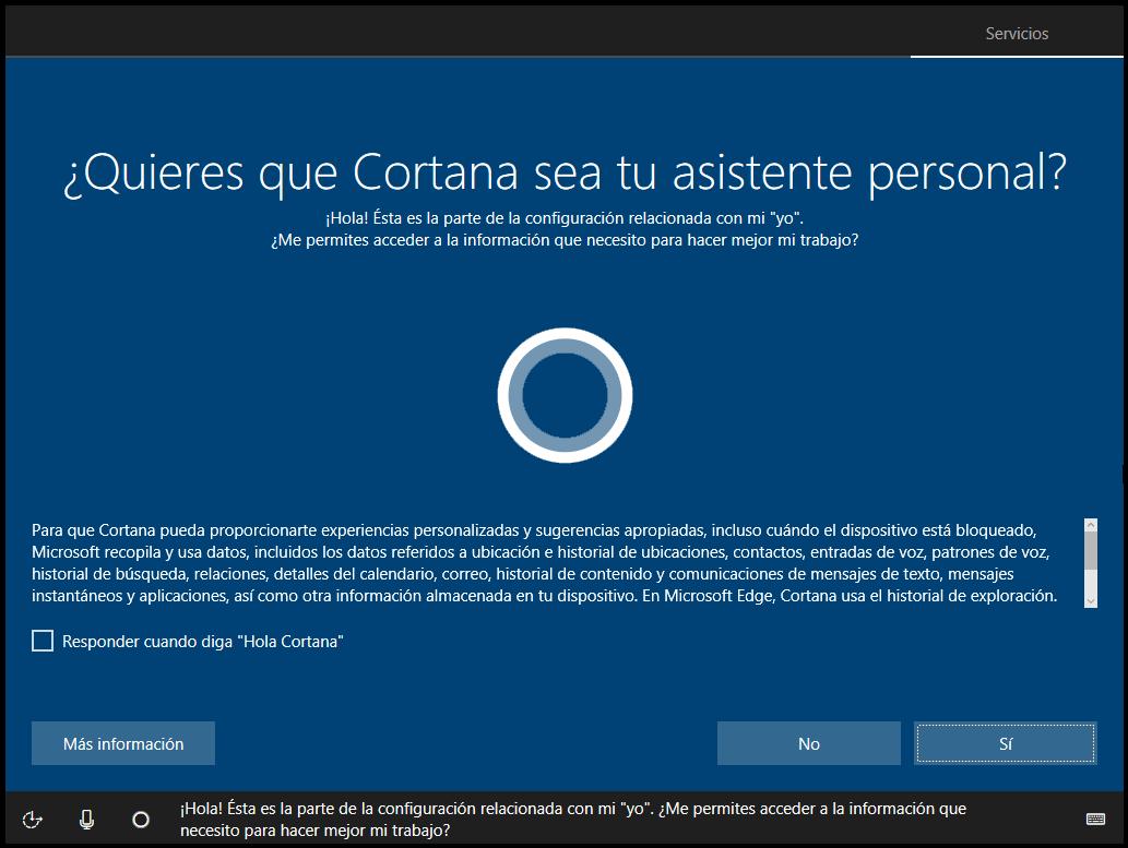 Cortana Creators Update