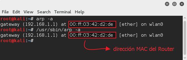 direccion MAC modem en OS X
