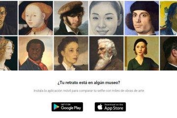 Google Arts Culture Selfie retrato