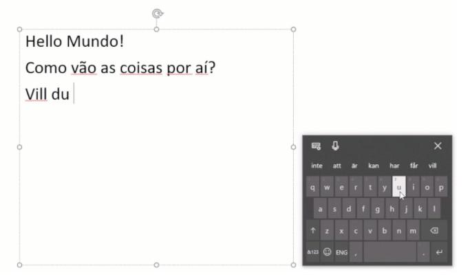 texto multilingue
