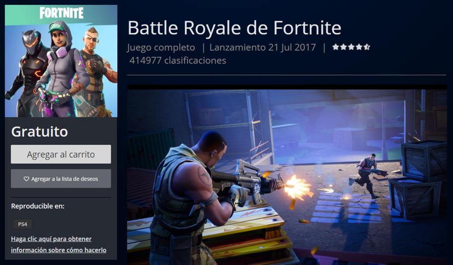 Descargar Battle Royale para PS4