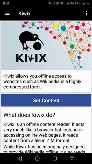 Kiwix para Android