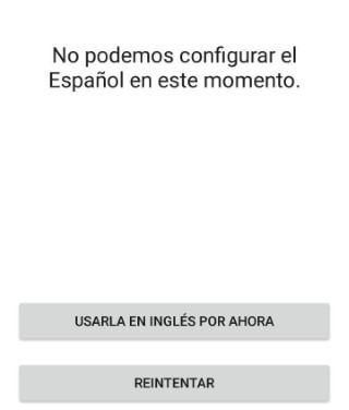 Error de idioma Facebook