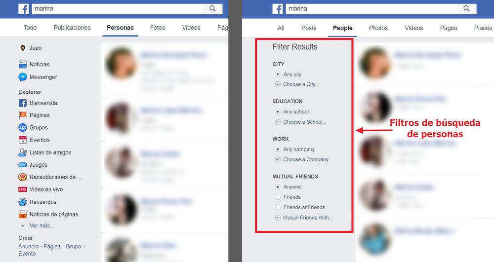 ¿Qué paso con la búsqueda en la gráfica de Facebook?