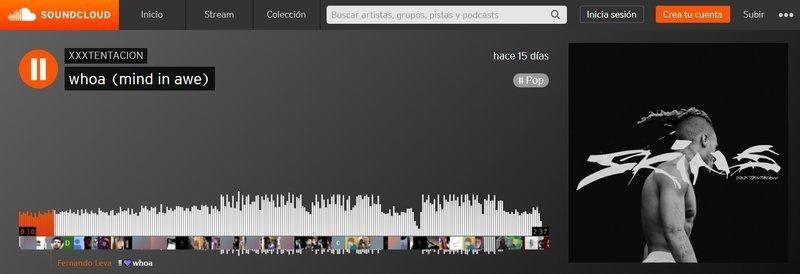 Soundcloud para escuchar música gratis