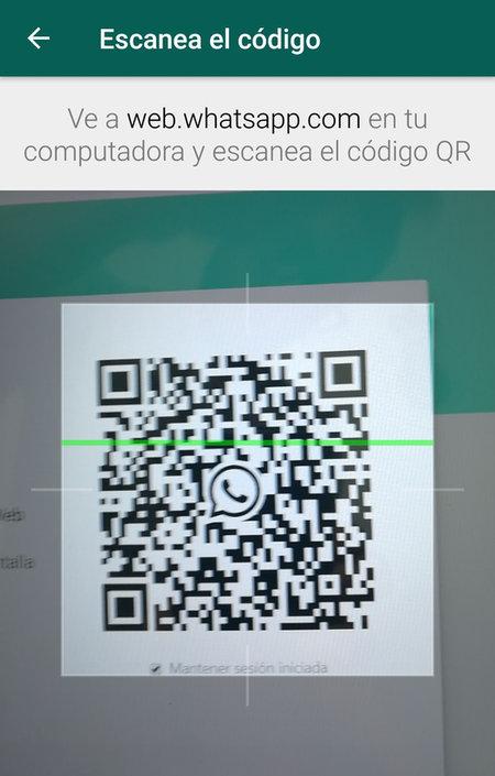 Cómo wscanear código QR de WhatsApp Web