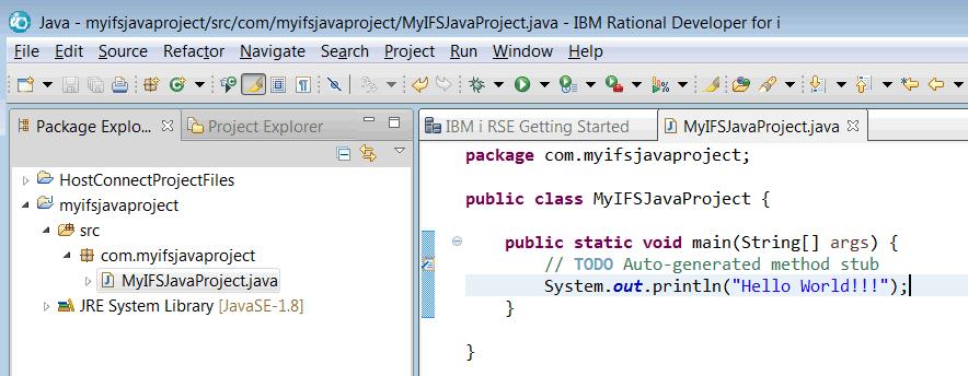 IDE Java Rational Application Developer