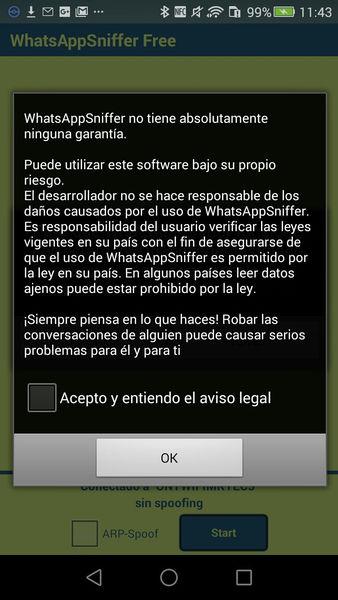 App para espiar WhatsApp