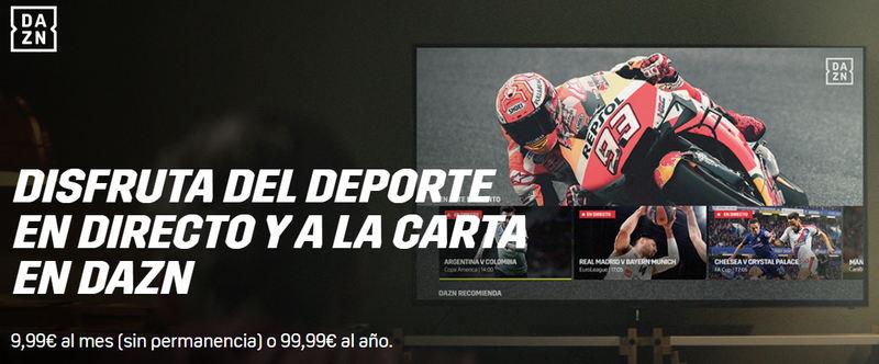 Ver motoGP online en DAZN