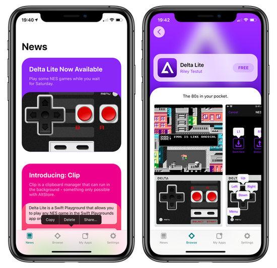 AltStore alternativa a App Store