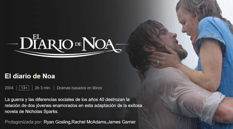 El diario de Noa Netflix