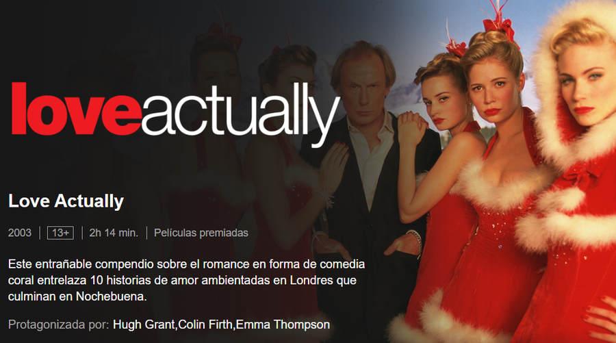 película romántica love actually