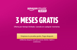 Amazon Music Unlimited gratis oferta