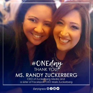 Women Empowerment: Ms. Randi Zuckerberg