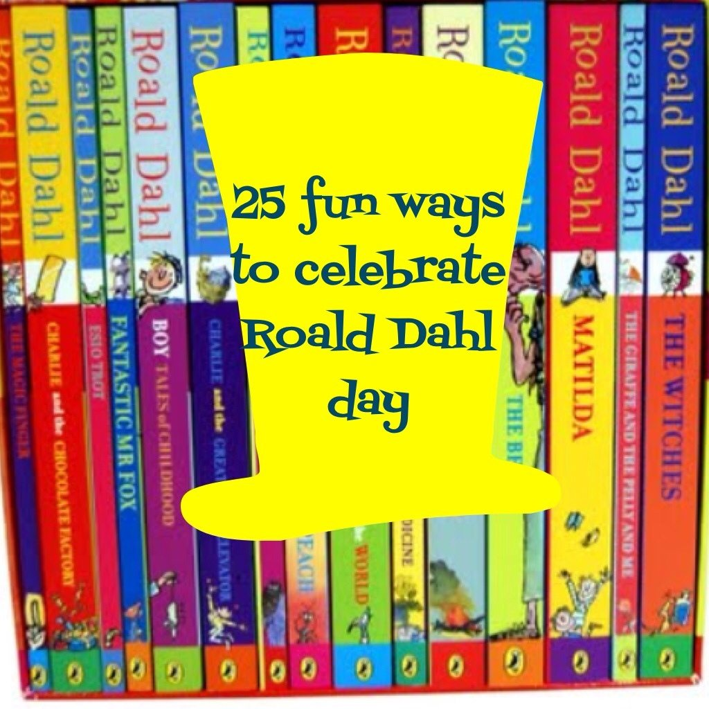 Foods Activities And Crafts To Celebrate Roald Dahl Day
