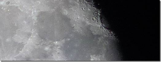 Moon - top middle