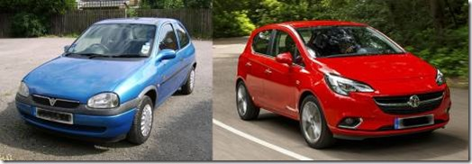 Old Corsa or new?