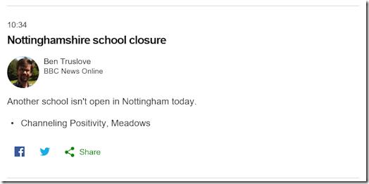 Channeling Positivity school closure