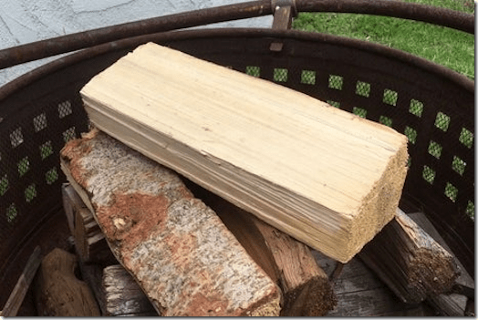 Secret firewood safe