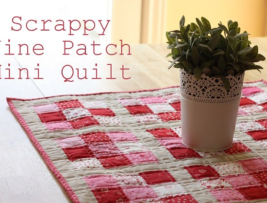 nine-patch-table-quilt-tutorial