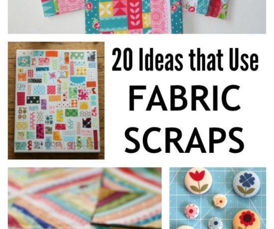 20 Ideas to use leftover fabric scraps