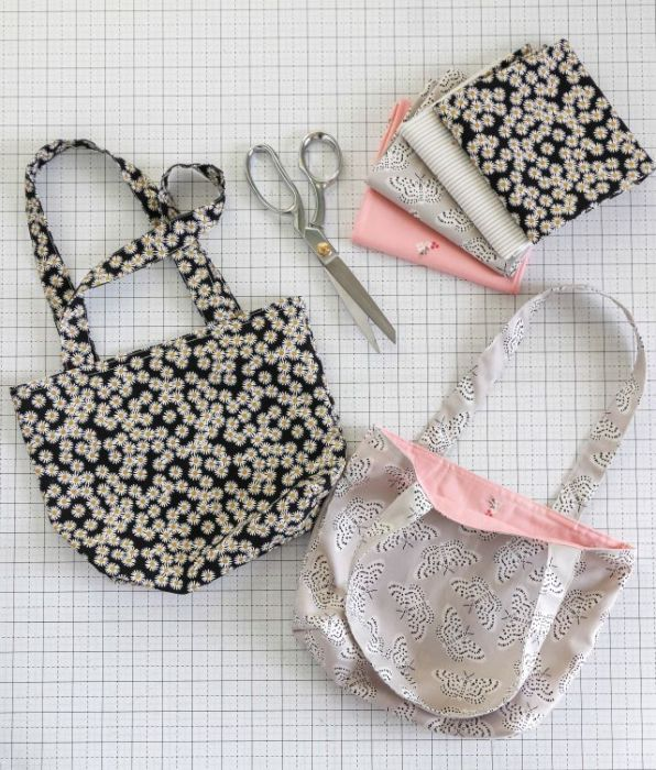 How to make a simple bag from a fat Quarter